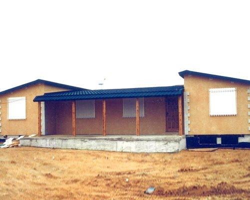 Casa Norteamérica de madera